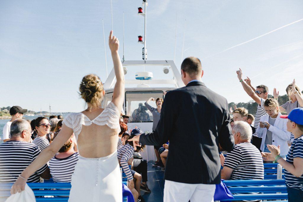 ceremonie laique en mer
