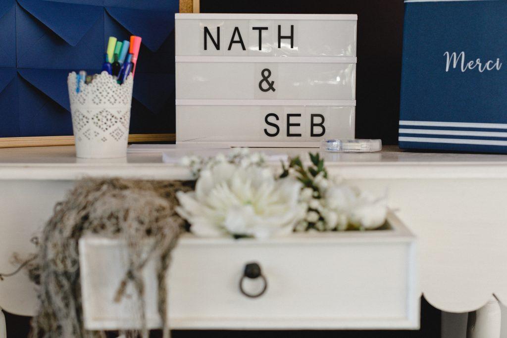 decoration mariage mer